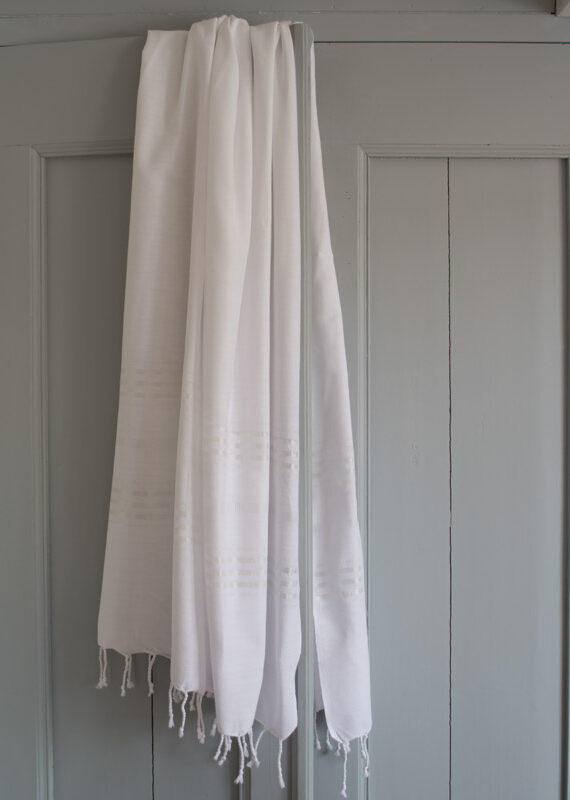 Suur saunalina – valge