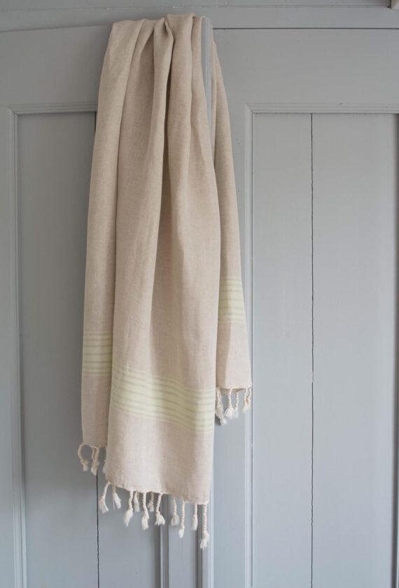 Heleroheliste triipudega linane saunalina
