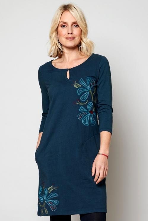 Tikandiga kleit-tuunika